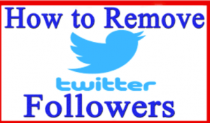 how to block usa Twitter followers